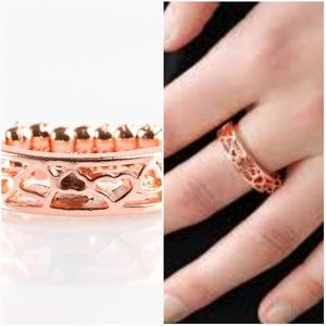 ALL HEART OUT COPPER RING